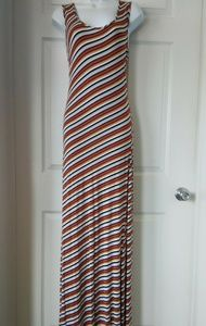 Dresses & Skirts - Exist Striped Bodycon Cotton Maxi Dress